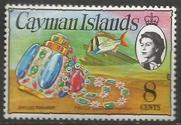 Cayman Is. - 1977 Issue Of  Pomander 8c (chalky Paper) MNH **    SG 415a - Cayman Islands