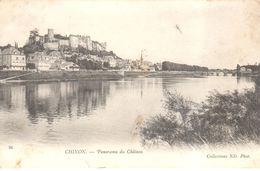 (37) Indre Et Loire - CPA - Chinon - Panorama Du Château - Chinon