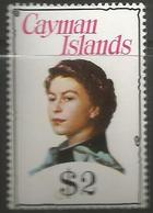 Cayman Is. - 1977 Issue Of Queen Elizabeth II $2 (chalky Paper) MNH **    SG 419a - Cayman Islands