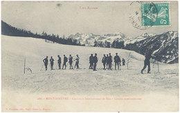 Cpa 05 – Montgenèvre – Concours International De Skis - Course Internationale - Autres Communes