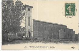 D 83. SAINTE ANNE D EVENOS.   L EGLISE - Sonstige Gemeinden