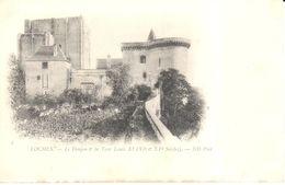 (37) Indre Et Loire - CPA - Loches - Le Donjon Et La Tour Louis XI - Loches