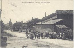 Cpa 08 – Ecordai – L'entrée, Côté Du Chesnois - France
