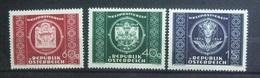 AUSTRIA 1949 UPU Set MNH - 1945-60 Unused Stamps
