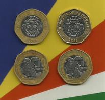 Seychelles 10 Rupee Coin Bi-Metallic 2018 Giant Tortoise Circulated In Circulation - Seychelles