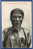 CPA Cochinchine Types Asie Indochine Non Circulé Mandarin Légion D'honneur - Viêt-Nam