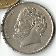 Pièce De Monnaie - Grèce - 10 Drachmes - 1986 - Grecia