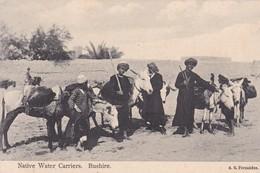 NATIVE WATER CARRIERS. BUSHIRE. A R FERNANDES. PERSE(IRAN).-BLEUP - Iran