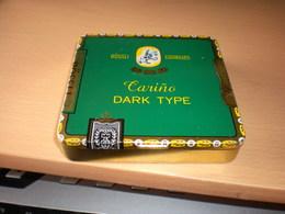 Rossli Cigarillos Carino Dark Type - Tabaksdozen (leeg)