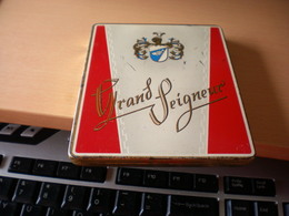 Grand Seigneur - Boites à Tabac Vides