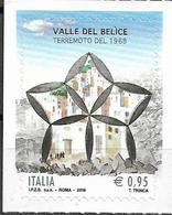 2018 Italien Mi.4041**MNH 50. Jahrestag Des Erdbebens Im Belice-Tal, Sizilien. - 6. 1946-.. República
