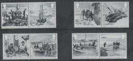 UK ,2016, SHACKLETON, ENDURANCE, SHIPS, BOATS,  NICE BLACK AND WHITE PHOTOS,  8v - Antarctic Expeditions