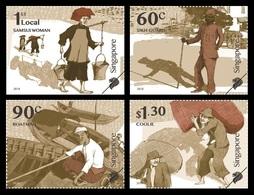 Singapore 2018 Mih. 2509/12 Early Trades Of Singapore MNH ** - Singapore (1959-...)