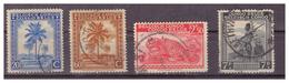 CONGO BELGA - 1942 - PALME E SOGGETTI DIVERSI. ALCUNI VALORI. VFU - Congo Belga