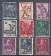 1941 - MOTIFS HISTORIQUES - 243-251** - COTE 67.-- CHF - Nuovi