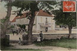 Cpa 21 – Cessey Sur Tille – Au Châteaubriant - France