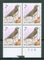 BELGIE * Buzin * Nr 2653  Pl2 * Postfris Xx * FLUOR  PAPIER - GELE GOM - 1985-.. Oiseaux (Buzin)