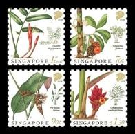 Singapore 2018 Mih. 2525/28 Flora. Native Gingers MNH ** - Singapore (1959-...)