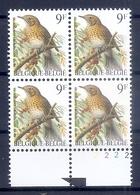 BELGIE * Buzin * Nr 2426  Pl2 * Postfris Xx * DOF WIT  PAPIER - 1985-.. Oiseaux (Buzin)