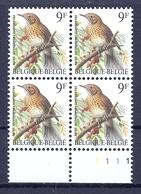 BELGIE * Buzin * Nr 2426  Pl1 * Postfris Xx * FLUOR  PAPIER - 1985-.. Oiseaux (Buzin)