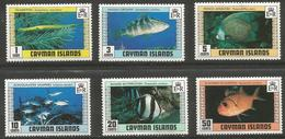Cayman Is. - 1979 Fishes MNH **    SG 483-8 - Cayman Islands