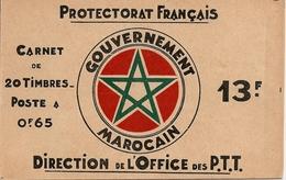 MOROCCO/ MAROC, 1938, Booklet 2, 13F, Casbah Of Rabat - Morocco (1956-...)