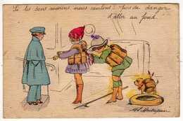 Illustrateurs : Maitrejean : Les Sous-Marins : Enfants - Illustrators & Photographers
