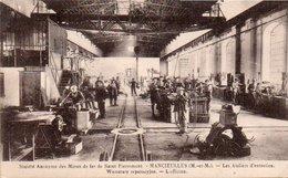 86Vin  54 Mancieulles Mines De Fer De St Pierremont Ateliers D'entretien - France