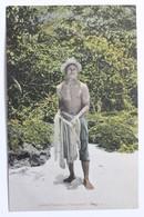Native Fisherman Chamorro, Island Of Guam, L.I., 1900-10s - Guam