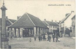 Cpa 51 – Chatillon Sur Marne – La Halle - Châtillon-sur-Marne