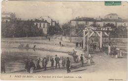 13 Port De Bouc  Le Pont Levis Et Le Cours  Landrivon - France