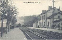 Cpa 52 – Eurville-Bienville – La Gare - France