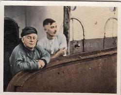 3ème Reich - N° 67 COURTE PAUSE SALLE DES MACHINES - Cartes De Cigarettes Allemandes SALEM De 1935 - Dokumente
