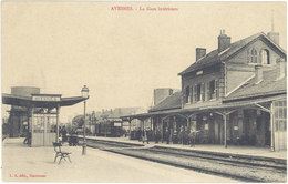 Cpa 59 – Avesnes – La Gare Intérieure - Avesnes Sur Helpe