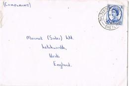 29339. Carta BALTASOUND UNST ( Shetland) Escocia 1965. Complaint - 1952-.... (Elizabeth II)