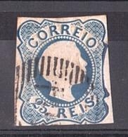 Portugal - 1855/56 - N° 6 Type I - Dom Pedro V - Oblitérés