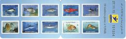 MOROCCO/ MAROC, 2015, Booklet 28, Fishes, 10x9.00dh - Morocco (1956-...)