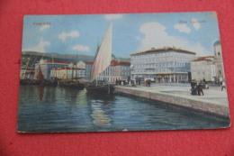 Trieste Riva Carciotti 1910 Animata - Italy