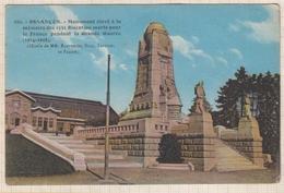 8AK1856 BESANCON MONUMENT ELEVE A LA MEMOIRE DES 1531 BISENTINS MORT POUR LA FRANCE GUERRE 1914 1918 2 SCANS - Besancon
