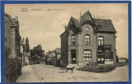 CPA Voiture à Chiens Attelage Neerpelt Belgique Hôtel - Other