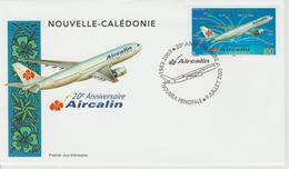 Nouvelle Calédonie FDC 2003 Avions 902 - FDC