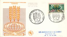 ALGERIE YVERT 377 FDC - Algérie (1962-...)