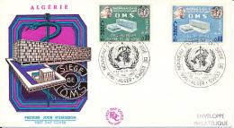 ALGERIE YVERT 424/25 FDC - Algérie (1962-...)