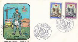 ALGERIE YVERT 428/429 FDC - Algérie (1962-...)