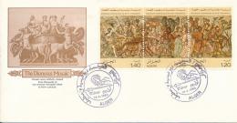 ALGERIE YVERT 711A FDC - Algérie (1962-...)