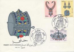 ALGERIE YVERT 724/26 FDC - Algérie (1962-...)