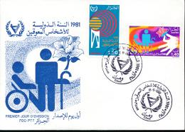 ALGERIE YVERT 738/39 FDC - Algérie (1962-...)