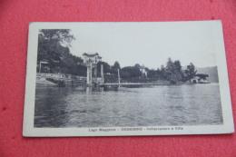 Lago Maggiore Oggebbio Verbano Imbarcadero E Ville 1925 - Italien