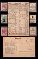 EMERGENCY MONEY Russia 1917 Mi 0119-21a Emergency Russia 1917 Mi 0119-21 A Emergency Money With Ovpt On The ALL F&b 729 - 1917-1923 Republic & Soviet Republic