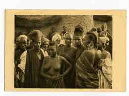A 127  -  Tchad  -  Bororos, Pasteurs Nomades De Race Poulbé  - Photo René Moreau  -   Afrique Equatoriale Française - Afrique